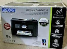 Epson WorkForce Pro WF-4720 All-in-One Color Inkjet Printer, Pigment Ink w/ Fax