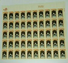 1769-1969 California 6 Cent Sheet of 50 Mint