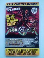 Soul Calibur Star Wars Choas Medal Joe Socom Escape Hint Tip Cheat Strategy CVG