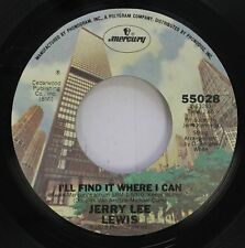Rock 45 Jerry Lee Lewis - I'Ll Find It Where I Can / Don'T Let The Stars Get In