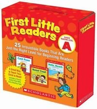 First Little Readers Parent Pack: Guided Reading Level A : 25 Irresistible...