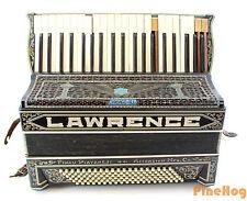 Antique Finau F. Piatanesi, Chicago USA Lawrence Accordion with Case