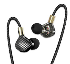 QKZ KD6 High End Stereo In-Ear-Kopfhörer mit Mikrofon + Voice Control (106dB)