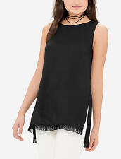 73% OFF! AUTH THE LIMITED TABARD FRINGE SHELL LONG TOP EXTRA SMALL BNEW US$24.97