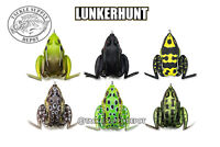 Lunkerhunt Lunker Frog Hollow Body Kicking Action Topwater - Pick