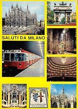 Br43872 Tramway Tram Chemin de fer Milano metro