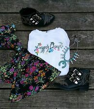 Gypsy queen tee shirt boho Spell inspired