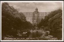 Gales Powys. Pen-y-Gareg Dam From Below , Elan Valle - Vintage Tarjeta Postal