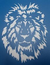 Scrapbooking - STENCILS TEMPLATES MASKS SHEET - Lion Stencil