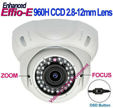 "1/3"" SONY 960H CCD 700TVL Effio-E OUTDOOR NIGHT VISION CCTV SECURITY DOME CAMERA"