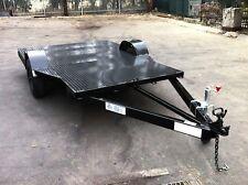 Trailer -quad  bike 10X5 FT HEAVY DUTY xtra wide FLOOR flat bed mowers buggy