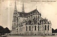 CPA 36  CHATEAUROUX  abside de l'église saint andré