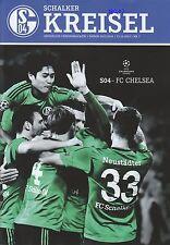 Schalker Kreisel + 22.10.2013 + FC Schalke 04 vs. FC Chelsea  + Programm + CL +