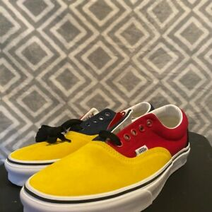 Vans Era OTW Rally Navy/yellow/red Shoes Sneakers Men Sz 8.5 New Without Box