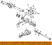 GM OEM Rear Axle-Outer Seal 96057745
