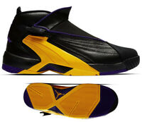 New AIR JORDAN Swift 23 Jumpman Sneaker Mens black purple yellow 10 -13
