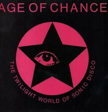 """Age of Chance(Pink 12"""" Vinyl P/S)The Twilight World Of Sonic Disco-Riot-VG+/NM"""