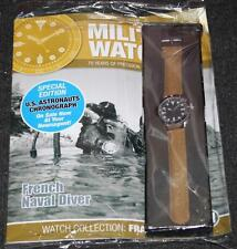 Military Watches Issue 21 1980's French Naval Diver - Mag & Watch NEW SEALED
