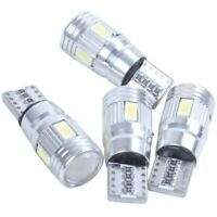 4 x T10 Canbus W5W 5630 6SMD Auto Vehicle LED Bulb Car Lamp 194 168 Pure Whit FP