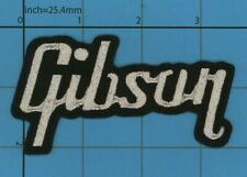 Gibson Guitar Iron on Patch Instruments Classic acoustic Music POP Rock Bass 98