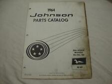 Johnson outboard parts catalog manual 1964 Sea Horse 18 HP FD FDL 18E 380047