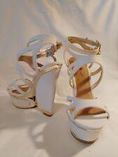Sandalias Blancas marca Justfab