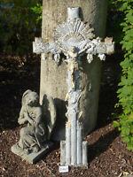 Nr.3749 Altes Grabkreuz Feldkreuz Wegkreuz Kreuz mit Korpus Jesus