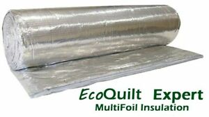 EcoQuilt Expert 1.5m x 10m Multifoil Insulation. FREE NEXT WORKING DAY DELIVERY!