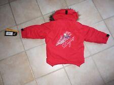 Veste blouson  ski  fille degré 7  rouge taille 4 ans