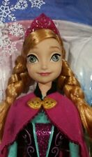Frozen Princess Anna  12 inches tall New In Box Disnney
