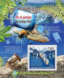 Great Pacific Garbage Patch Nature protection s/s Burundi Sc.1135 BUR12415b