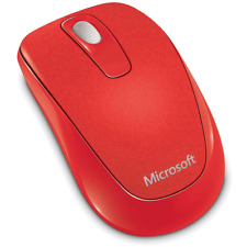 Microsoft Wireless Mobile Mouse 1000 Flame Red ** NEW **
