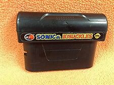 Sonic & Knuckles Sega Genesis ** Cart Only** Game Adapter FREE SHIP!