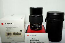 Leica APO-Macro-Elmarit-r 100mm f/2.8 MF ROM Lens Boxed #3889898