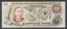 FILIPPINE / PHILIPPINES - 10 Piso 1981 UNC  Pick 167a