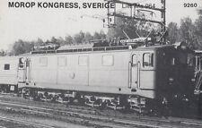AK UNREAD Morop Congress; Sweden litt. MA 964 Baden Model järnvägs (G2558)