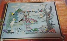 Vintage Paragon Needlecraft American Wildlife Crewel Embroidery Kit Henning