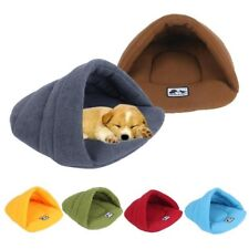 Warm Fleece cocoon bed for dogs and cats pet cushion house