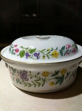 Royal Worcester Arcadia Large Oval Covered Baking Dish