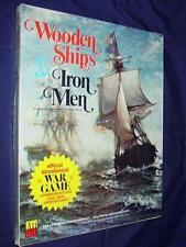 AH Avalon Hill - WOODEN SHIPS & IRON  - Official Bicentennial War Game (SEALED)