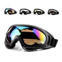 Brille für Brillenträger Motorradbrille Schwarz Motocross Off Road Sno XCK