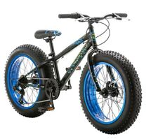 "20"" Mongoose Pug Fat Tire Bike Disc Brakes,  Black"