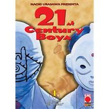 21ST CENTURY BOYS 1 DI 2 - RISTAMPA - PLANET MANGA PANINI - NUOVO