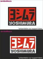 yoshimura logo sponsor- Stickers autocollants adhésifs voiture moto