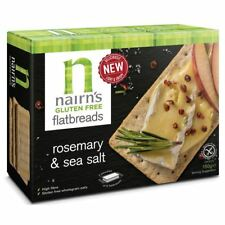 Nairns Gluten Free Flat Bread Rosemary & Sea Salt 150g