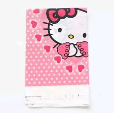 Hello Kitty Plastic Table cloth Disposable Birthday Party Girl Tablecloth Pink