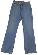VTG TOMMY HILFIGER Women Sz 8-Long Light Wash Classic Boot Mom Jeans