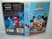 Mickey's Christmas Carol, Walt Disney, Children's VHS Tape & Case. VHS, Cert U.