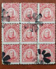 Philippines stamp #291  BLOCK OF 9