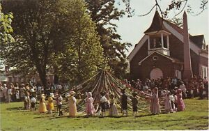 Dover, DE - Old Dover Days - Old Christ Church - Dancing Around the Maypole